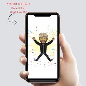 Men's MYSTERY BOX 📦 SALE! Small - Medium